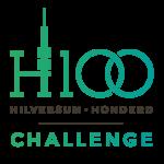 Hilversum100 logo