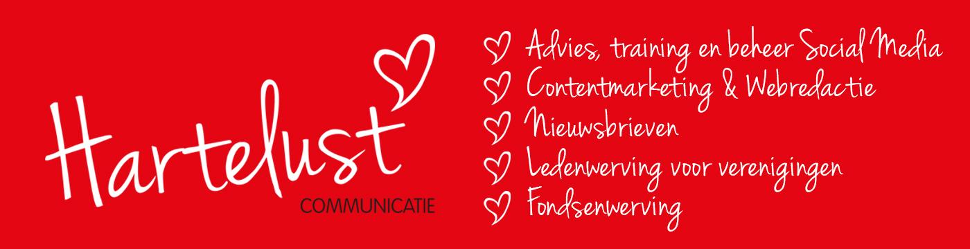 Hartelust Communicatie communicatiediensten voor stichting vereniging non-profit bestuur communicatieadvies communicatie uitvoering